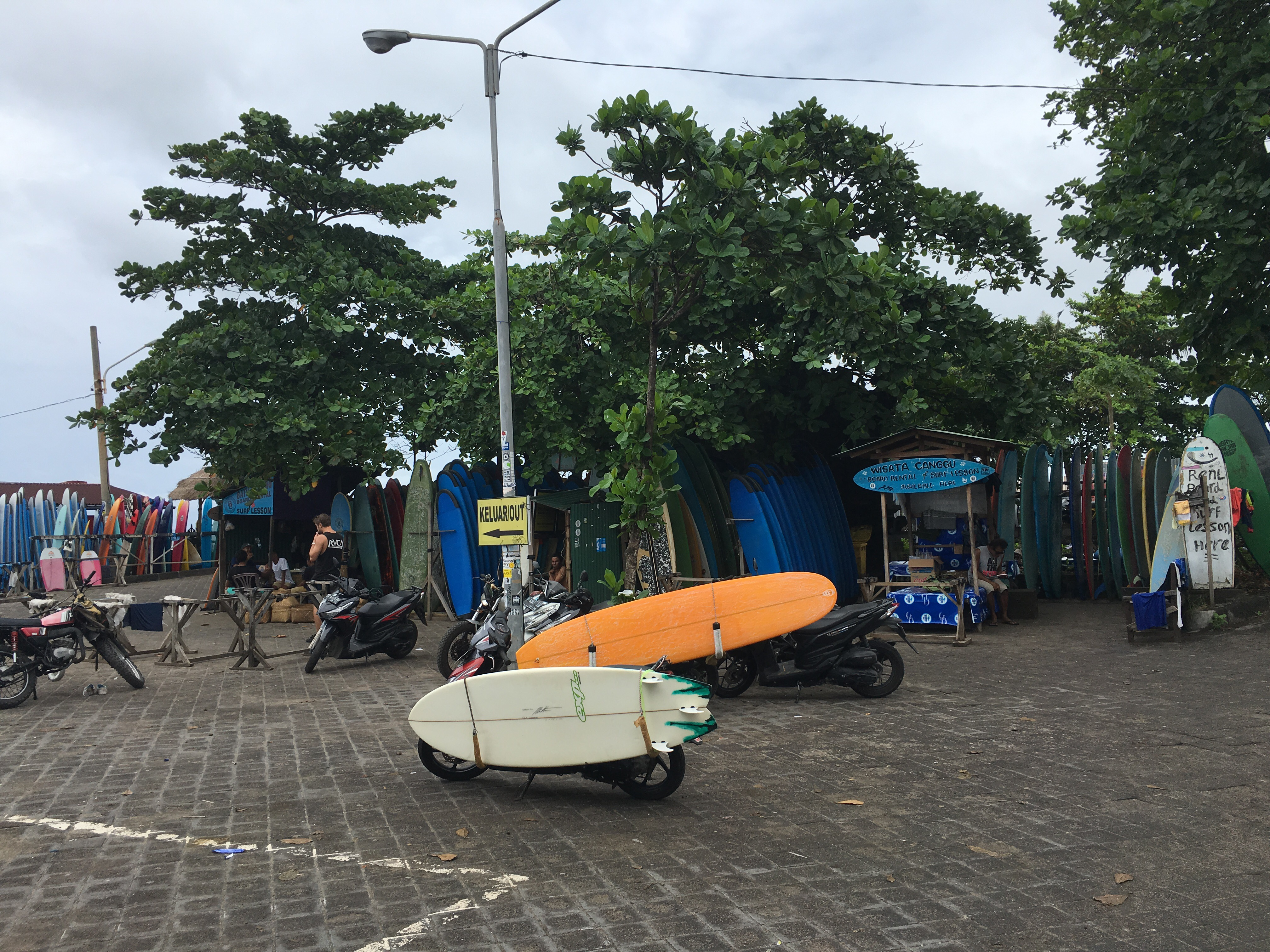Learning To Surf In Bali The Roving Backpacker
